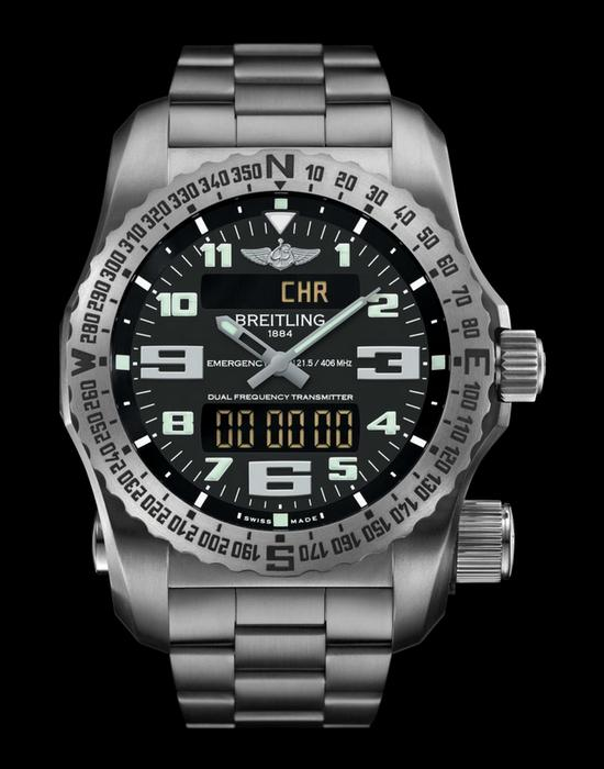 Breitling Emergency II Watch Front
