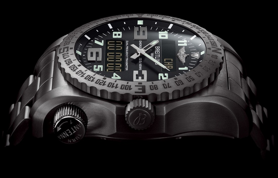Breitling Emergency II Watch Side