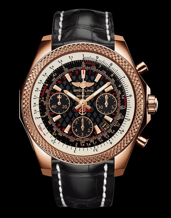 Breitling for Bentley B06 S Red Gold Black Dial Watch