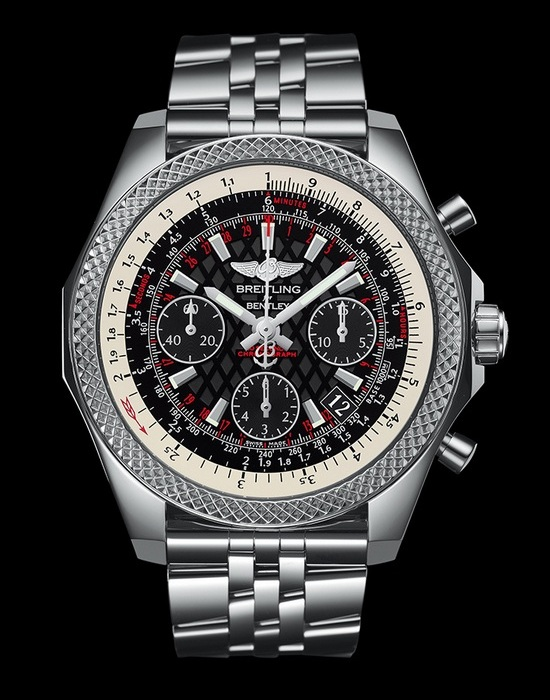 Breitling for Bentley B06 S Steel Black Dial Watch