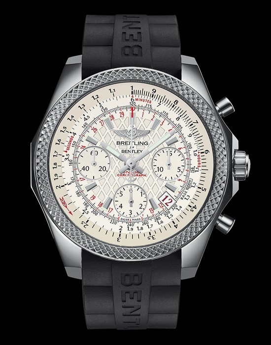 Breitling for Bentley B06 S Steel Silver Dial Watch