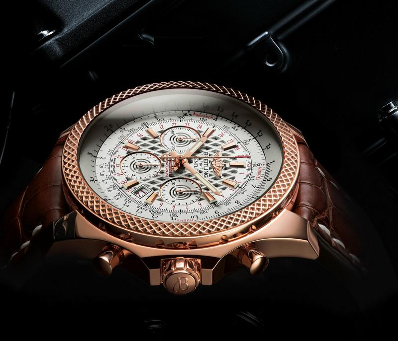 Breitling for Bentley B06 Watch Red Gold