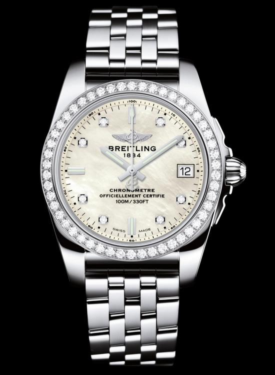 bBreitling Galactic 36 SleekT Diamonds Watch