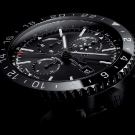 Breitling Chronoliner Blacksteel Watch Dial