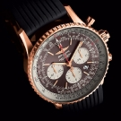 Breitling Navitimer Rattrapante Gold Watch Dial