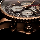 Breitling Navitimer Rattrapante Gold Watch Crown