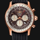 Breitling Navitimer Rattrapante Gold Watch