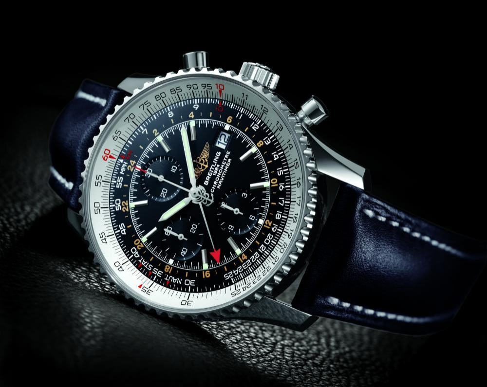 breitling navitimer world watch review