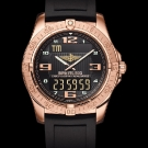 Breitling Professional Aerospace Watch Rose Gold