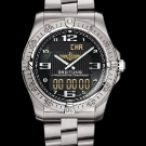 Breitling Professional Aerospace Watch Volcano Black Dial