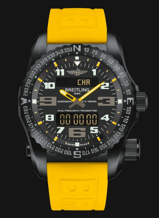 Breitling Professional Night Mission Yellow Accents Watch