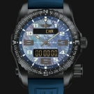Breitling Professional Night Mission Blue Mother-of-Pearl Dial Watch