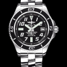 Breitling Superocean 42 Watch Abyss Black Dial