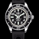 Breitling Superocean 42 Watch Abyss Silver Dial