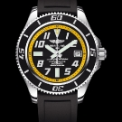 Breitling Superocean 42 Watch Abyss Yellow Dial