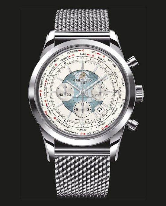 Breitling Transocean Chronograph Unitime Watch