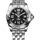 Breitling Windrider Cockpit Lady Stainless Steel Watch Black A7135612 B903
