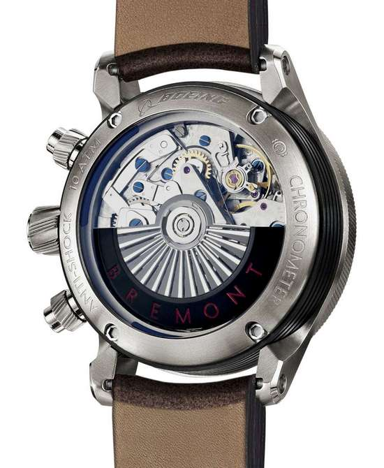 Bremont Boeing 100 Limited Edition Watch Case Back