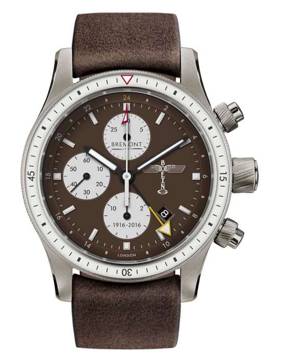 Bremont Boeing 100 Limited Edition Watch Front