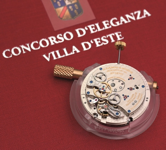 Lange 1 Time Zone Concorso Edition Watch Mechanism