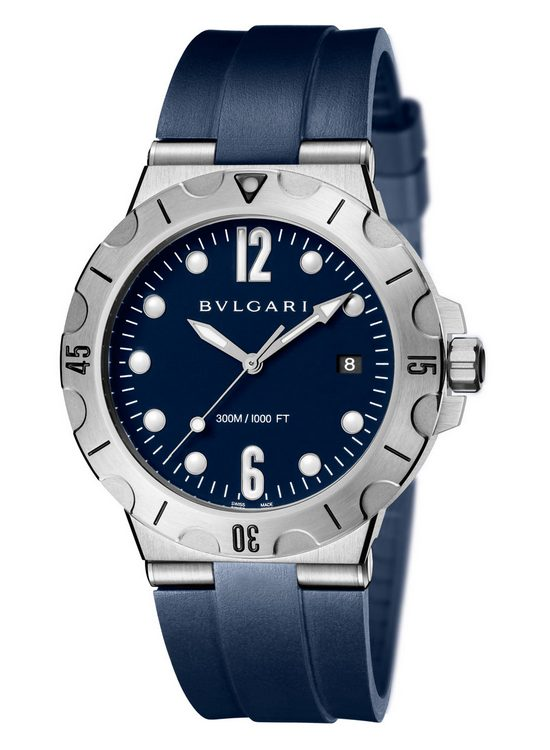 Bulgari Diagono Scuba 2016 Watch Rubber Strap
