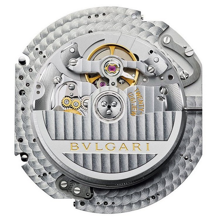 Bulgari Caliber BVL191 Back