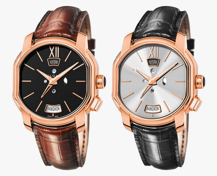 Bulgari Hora Domus Dual Time Zone Watches
