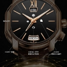 Bulgari Hora Domus Dual Time Zone Watch Functionality