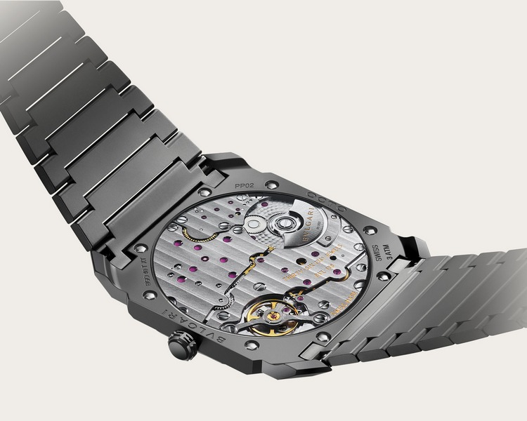 Bulgari Octo Finissimo Automatic Watch Back