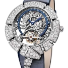 Bulgari Serpenti Incantati Skeleton Tourbillon Lumière Watch White Gold