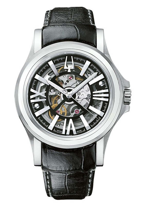 Bulova Accutron Kirkwood Skeleton Dial 63A000 Watch