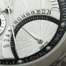 Bulova Dress Dual-Time Sunray Dial Watch detail