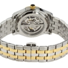 Bulova Mechanical Ladies' Double Heart Motif Round Watch 98P123 Back