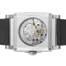 Bulova Mechanical Skeleton Black Dial Square 96A113 Watch caseback