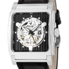 Bulova Mechanical Skeleton Black Dial Square 96A113 Watch