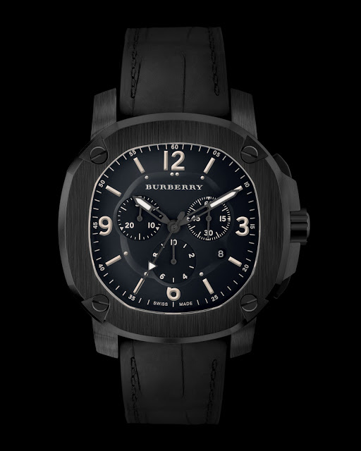 Burberry Britain Chronograph Watch