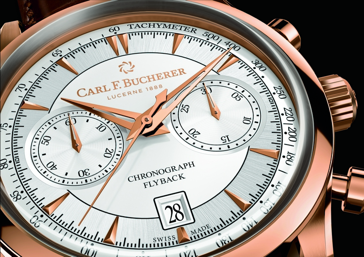 Carl F. Bucherer Manero Flyback Chronograph Watch Dial