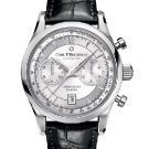 Carl F. Bucherer Manero Flyback Chronograph Watch Stainless Steel
