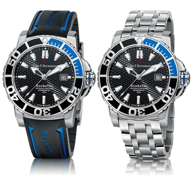 Carl F. Bucherer Patravi ScubaTec Watches