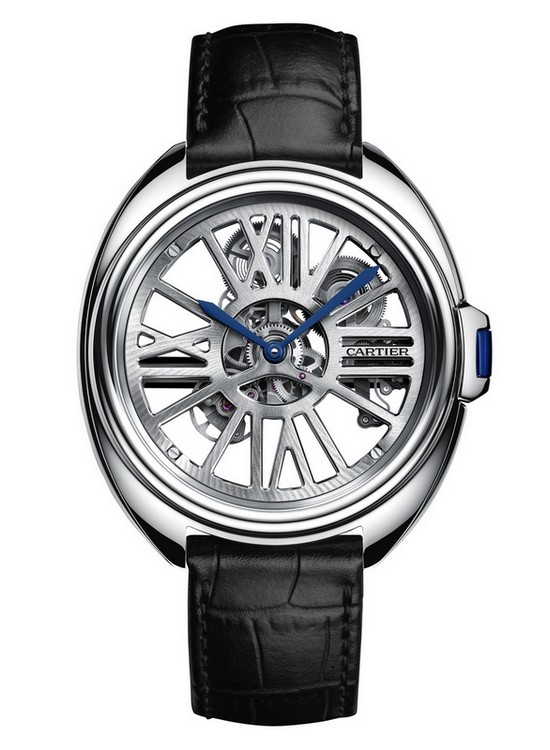 Cartier Clé de Cartier Automatic Skeleton Watch Front
