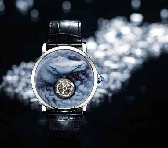 Cartier Métiers d'Art Watch Crocodile Motif