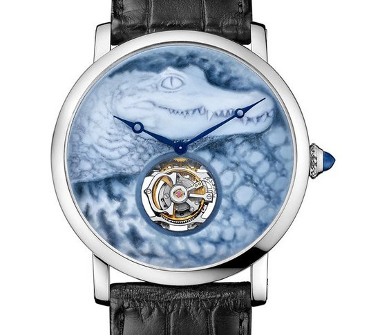 Cartier Métiers d'Art Watch Crocodile