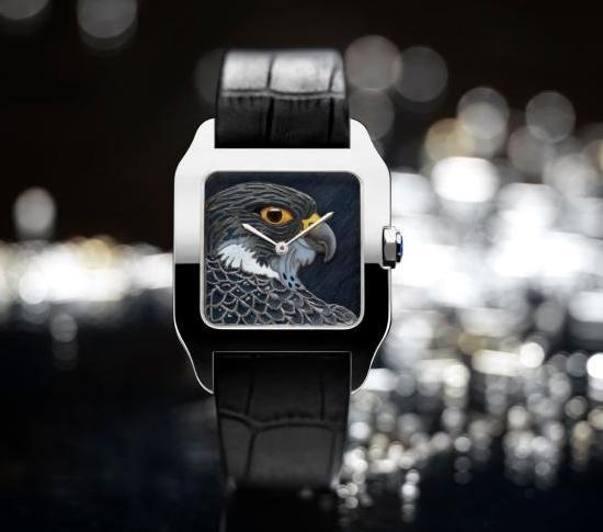 Cartier Métiers d'Art Watch Falcon Motif