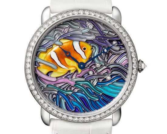 Cartier Métiers d'Art Watch Fish