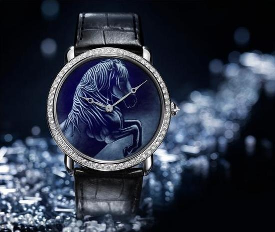 Cartier Métiers d'Art Watch Horse Motif