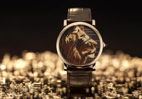 Cartier Métiers d'Art Watch Lion Motif