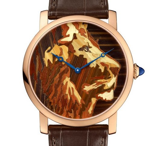 Cartier Métiers d'Art Watch Lion