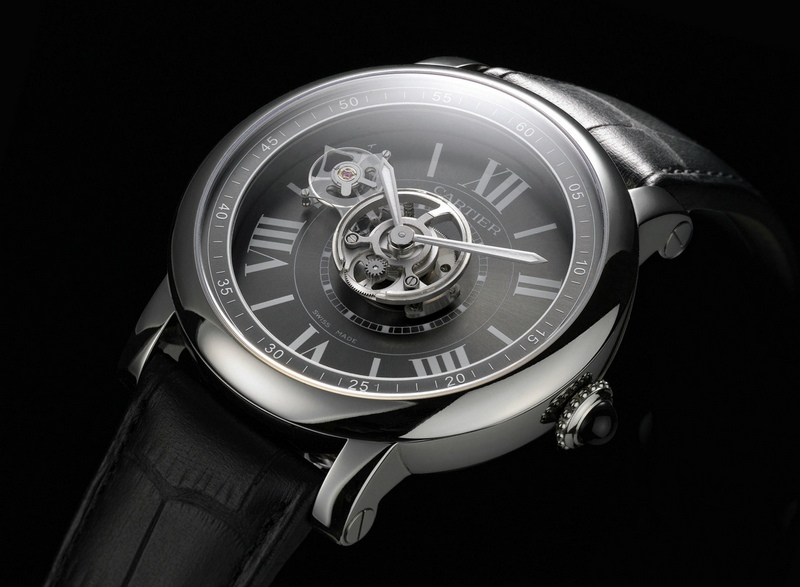Cartier Rotonde Astrotourbillon Carbon Crystal Watch