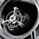 Cartier Rotonde Mysterious Double Tourbillon Watch Detail