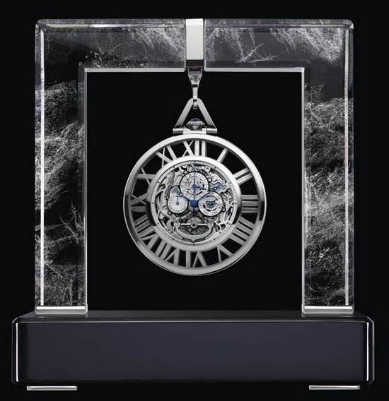 Cartier Skeleton Grand Complication Pocket Watch SIHH 2012